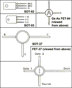 Transistor Pin-Outs